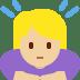 🙇🏼♀️ woman bowing: medium-light skin tone Emoji on Twitter Platform