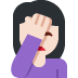 🤦🏻 person facepalming: light skin tone Emoji on Twitter Platform