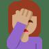 🤦🏽 person facepalming: medium skin tone Emoji on Twitter Platform