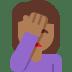 🤦🏾 Medium Dark Skin Tone Person Facepalming Emoji on Twitter Platform