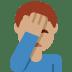 🤦🏽♂️ man facepalming: medium skin tone Emoji on Twitter Platform