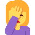 🤦‍♀️ woman facepalming Emoji on Twitter Platform