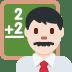 👨🏻🏫 man teacher: light skin tone Emoji on Twitter Platform