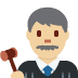 👨🏼‍⚖️ man judge: medium-light skin tone Emoji on Twitter Platform
