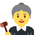 👩⚖️ woman judge Emoji on Twitter Platform