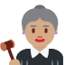 👩🏽‍⚖️ woman judge: medium skin tone Emoji on Twitter Platform