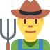 👨‍🌾 man farmer Emoji on Twitter Platform