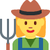 👩‍🌾 woman farmer Emoji on Twitter Platform