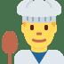 👨🍳 man cook Emoji on Twitter Platform