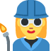 👩‍🏭 woman factory worker Emoji on Twitter Platform