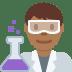 👨🏾🔬 man scientist: medium-dark skin tone Emoji on Twitter Platform