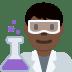 👨🏿🔬 man scientist: dark skin tone Emoji on Twitter Platform