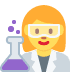 👩🔬 woman scientist Emoji on Twitter Platform
