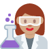 👩🏽‍🔬 Medium Skin Tone Female Scientist Emoji on Twitter Platform