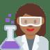 👩🏾🔬 woman scientist: medium-dark skin tone Emoji on Twitter Platform