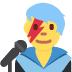 👨🎤 man singer Emoji on Twitter Platform