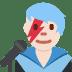 👨🏻🎤 man singer: light skin tone Emoji on Twitter Platform