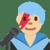 👨🏼🎤 man singer: medium-light skin tone Emoji on Twitter Platform