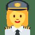 👩✈️ woman pilot Emoji on Twitter Platform