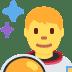 👨🚀 man astronaut Emoji on Twitter Platform