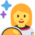 👩🚀 woman astronaut Emoji on Twitter Platform