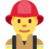 👨‍🚒 man firefighter Emoji on Twitter Platform