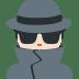 🕵🏻 Light Skin Tone Detective Emoji on Twitter Platform