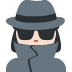 🕵🏻♀️ woman detective: light skin tone Emoji on Twitter Platform