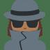 🕵🏾♀️ woman detective: medium-dark skin tone Emoji on Twitter Platform