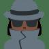 🕵🏿♀️ woman detective: dark skin tone Emoji on Twitter Platform