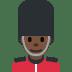 💂🏿 Dark Skin Tone Guard Emoji on Twitter Platform