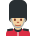 💂🏼♂️ Medium Light Skin Tone Male Guard Emoji on Twitter Platform