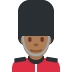 💂🏾‍♂️ man guard: medium-dark skin tone Emoji on Twitter Platform