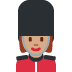 💂🏽♀️ woman guard: medium skin tone Emoji on Twitter Platform