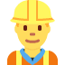 👷‍♂️ man construction worker Emoji on Twitter Platform