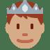 🤴🏽 prince: medium skin tone Emoji on Twitter Platform