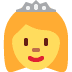 👸 Princess Emoji on Twitter Platform