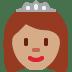 👸🏽 princess: medium skin tone Emoji on Twitter Platform