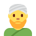 👳♂️ man wearing turban Emoji on Twitter Platform