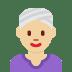 👳🏼♀️ woman wearing turban: medium-light skin tone Emoji on Twitter Platform