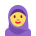 🧕 woman with headscarf Emoji on Twitter Platform