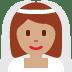 👰🏽 bride with veil: medium skin tone Emoji on Twitter Platform