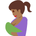 🤱🏾 breast-feeding: medium-dark skin tone Emoji on Twitter Platform