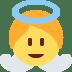 👼 baby angel Emoji on Twitter Platform