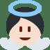 👼🏻 baby angel: light skin tone Emoji on Twitter Platform
