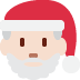 🎅🏻 Santa Claus: light skin tone Emoji on Twitter Platform