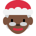🤶🏿 Mrs. Claus: dark skin tone Emoji on Twitter Platform