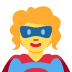 🦸 superhero Emoji on Twitter Platform