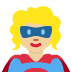 🦸🏼 superhero: medium-light skin tone Emoji on Twitter Platform