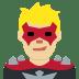 🦹🏼♂️ man supervillain: medium-light skin tone Emoji on Twitter Platform